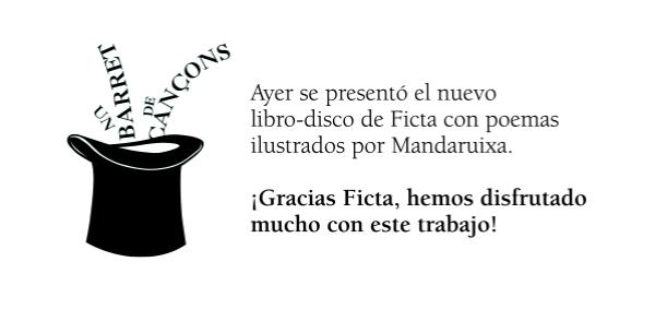 mandaruixa_ficta_libro-disco_un-barret-de-cancons